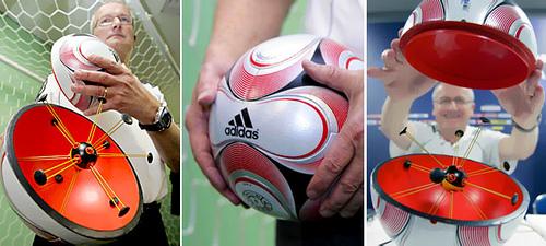 error de diseño de la pelota del mundial sudafrica 2010
